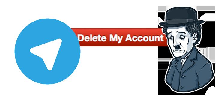 Delete telegram account copy