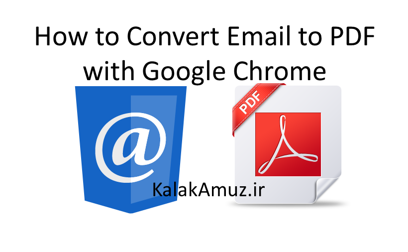How to Convert Email to PDF with Google