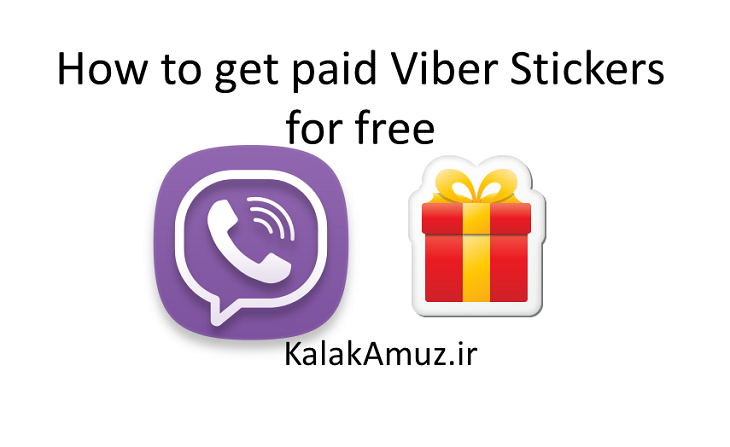How to get paid Viber Stickers